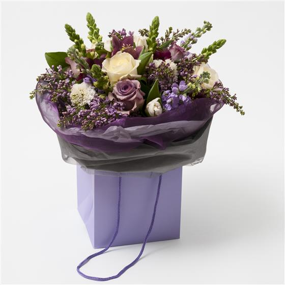 A Textured Florists Choice Handtied Bouquet